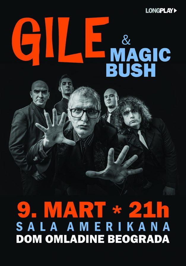 Gile & Magic Bush sutra u Domu omladine