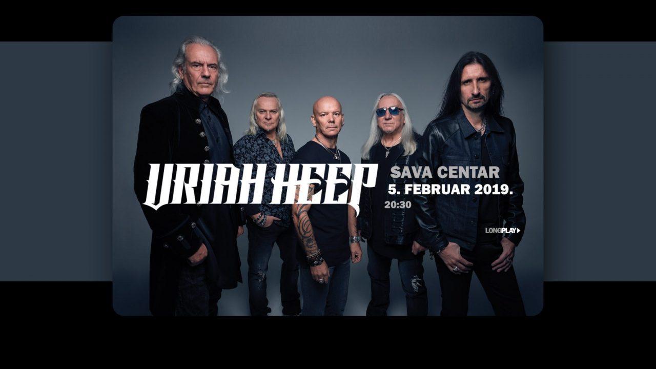 Moćni Uriah Heep 5. februara u Sava centru!