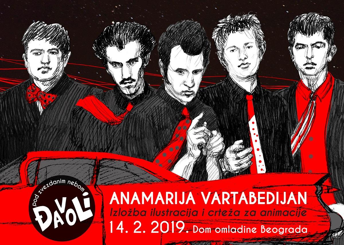 """Izložba """"Pod zvezdanim nebom – ĐAVOLI"""" Anamarije Vartabedijan"""
