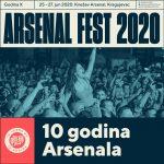 Arsenal Fest na dodeli European Festival Awards!