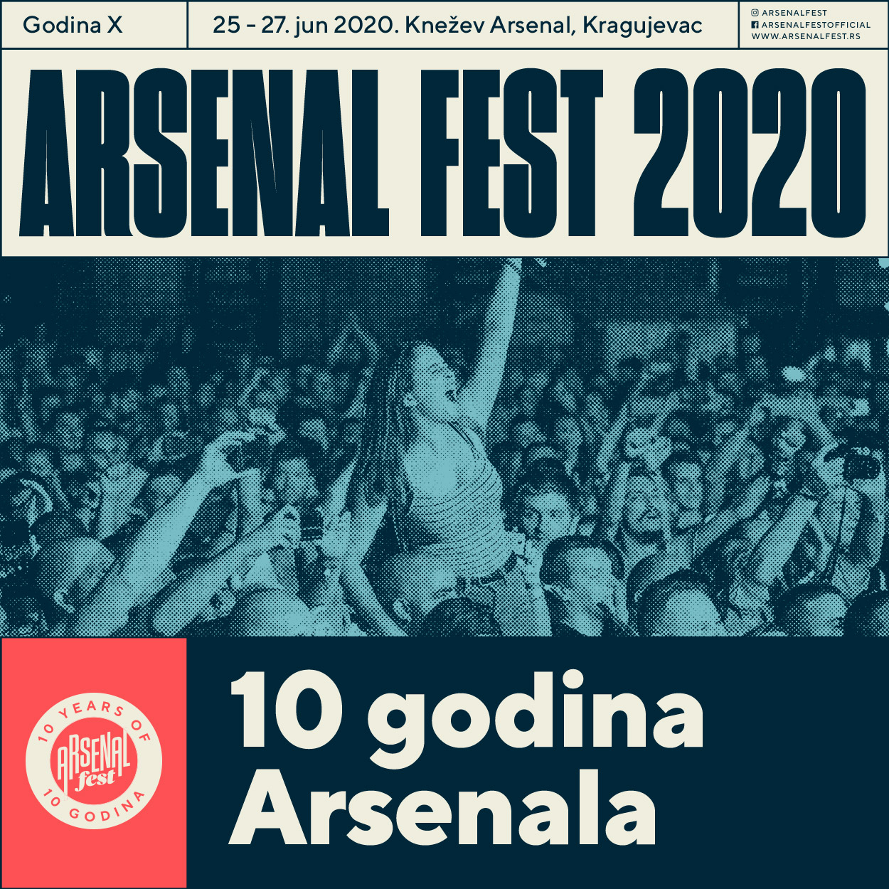 Arsenal Fest na dodeli European Festival Awards!