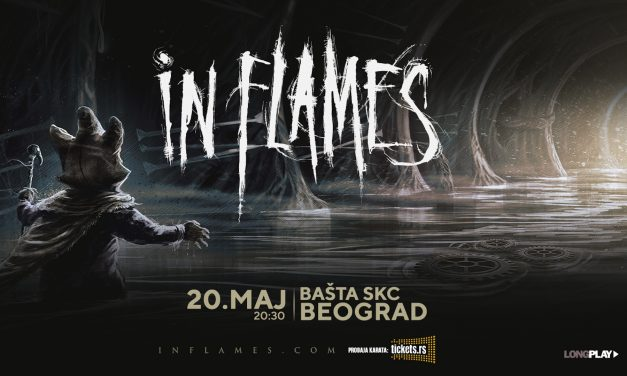In Flames 20. maja u Beogradu!