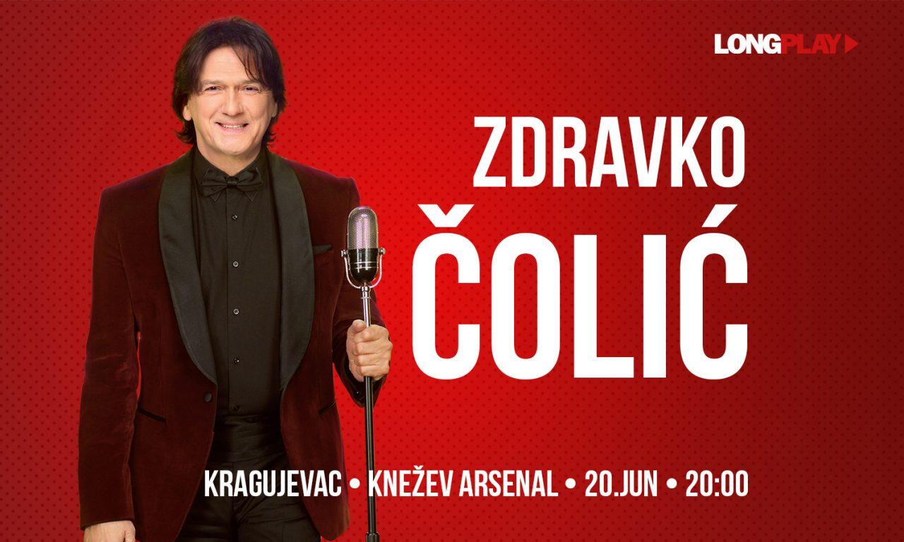 Požurite na koncert Zdravka Čolića 20. juna u Kragujevac!