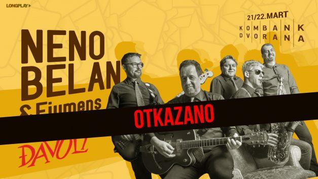 Otkazani koncerti Belana & Fiumens u Beogradu