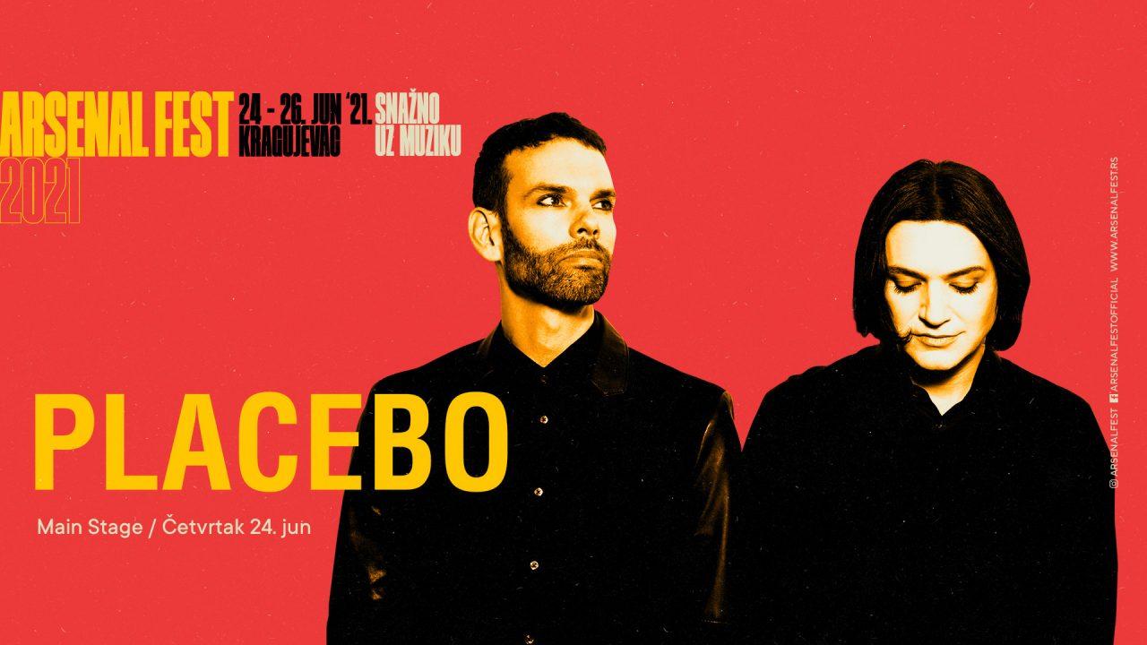 Potvrđeno – Placebo u junu na Arsenalu!