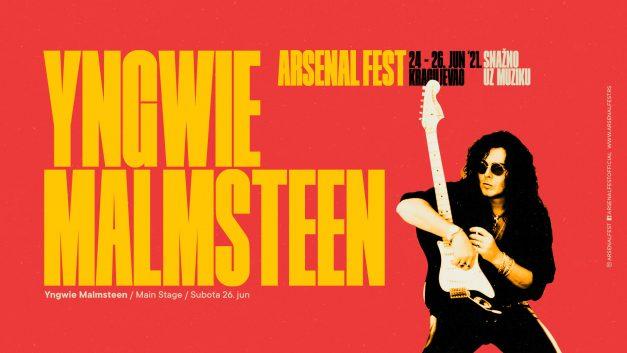 Yngwie Malmsteen potvrdio dolazak na Arsenal Fest u Kragujevac!