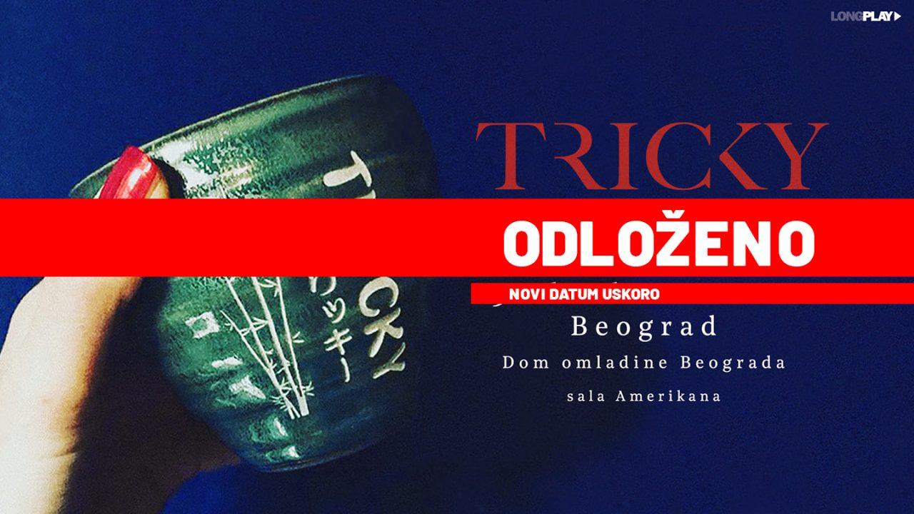 Ponovo odložen Trikijev beogradski koncert